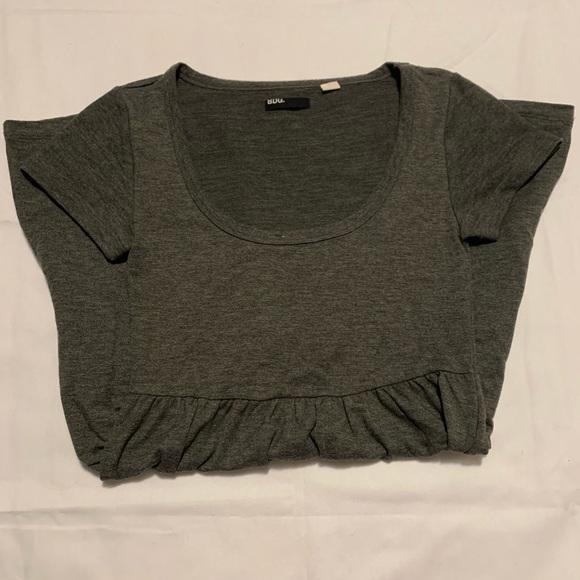 BDG Dresses & Skirts - BDG urban outfitters Soft, Grey, T-shirt Dress